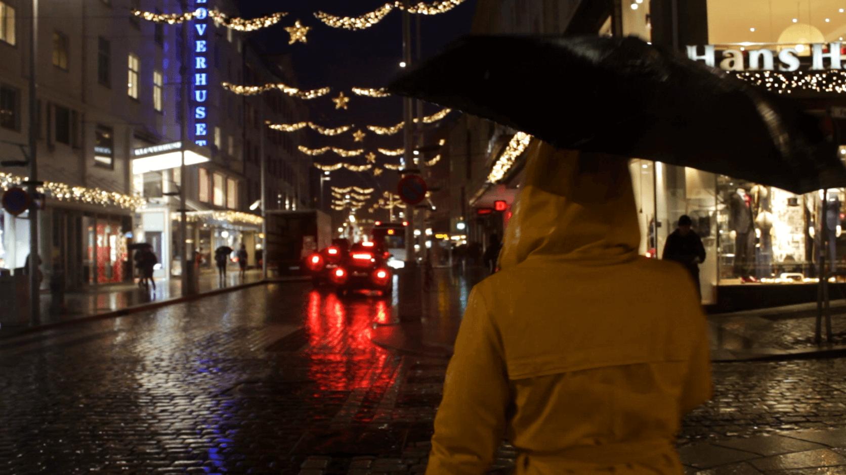 Skyller regnet julestemningen vekk?