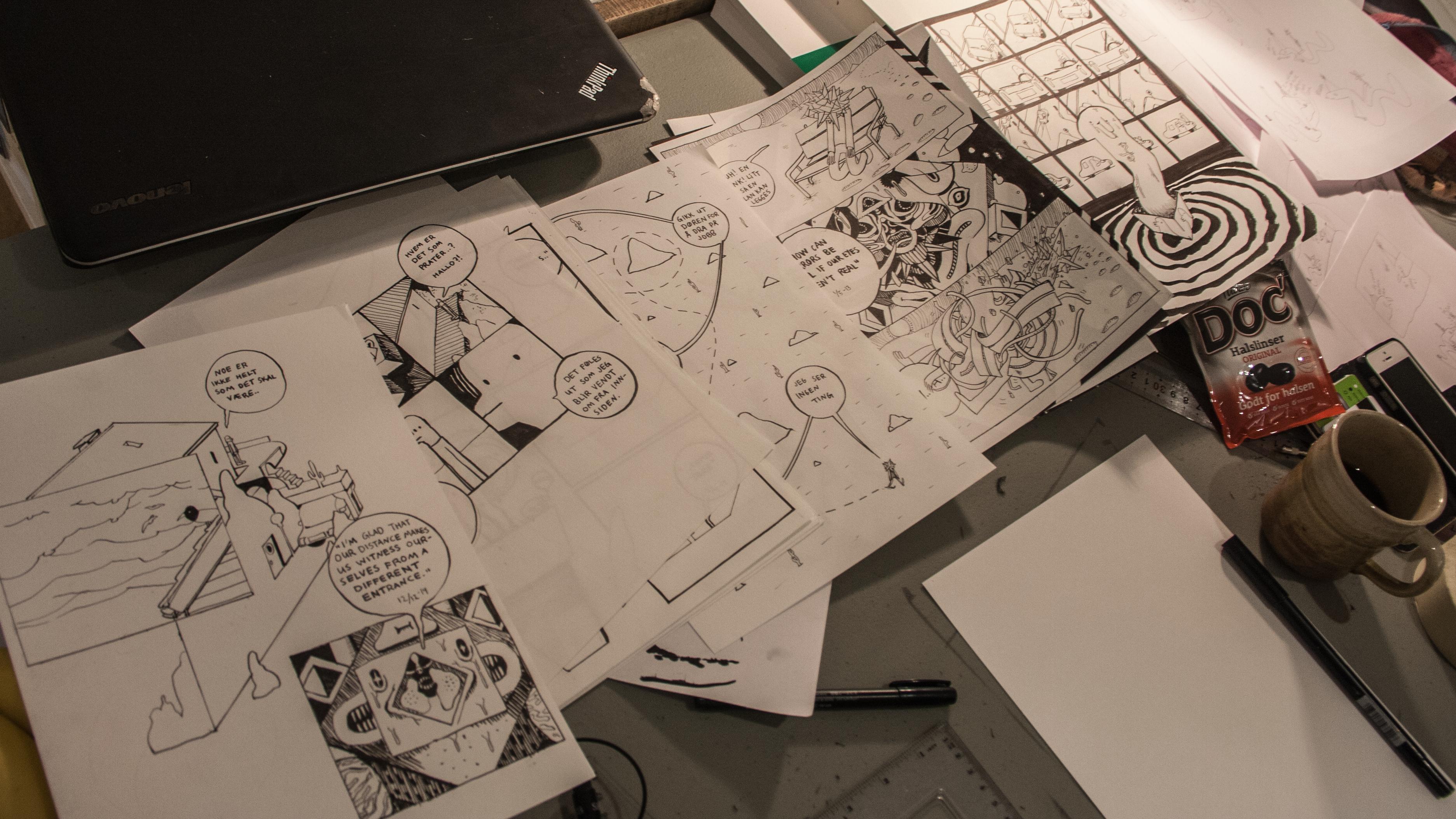Tegneserie på 24 timer