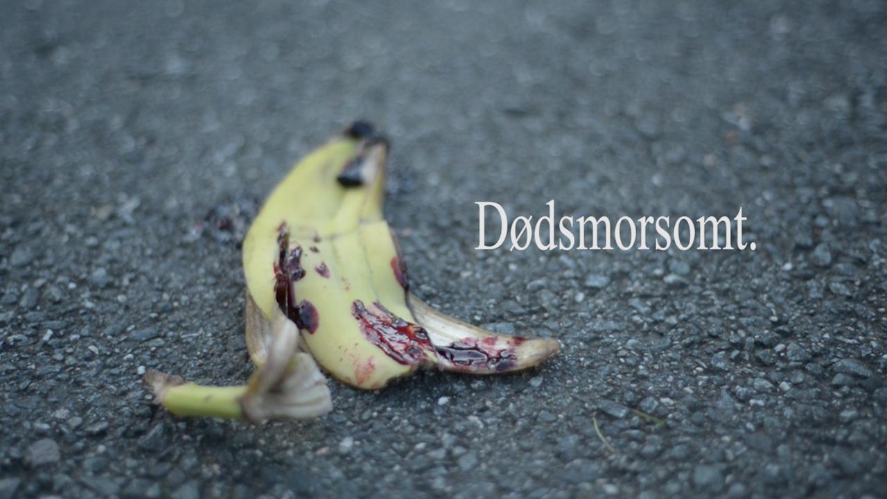 Dødsmorsomt. Episode 1 – «Bananskallet»