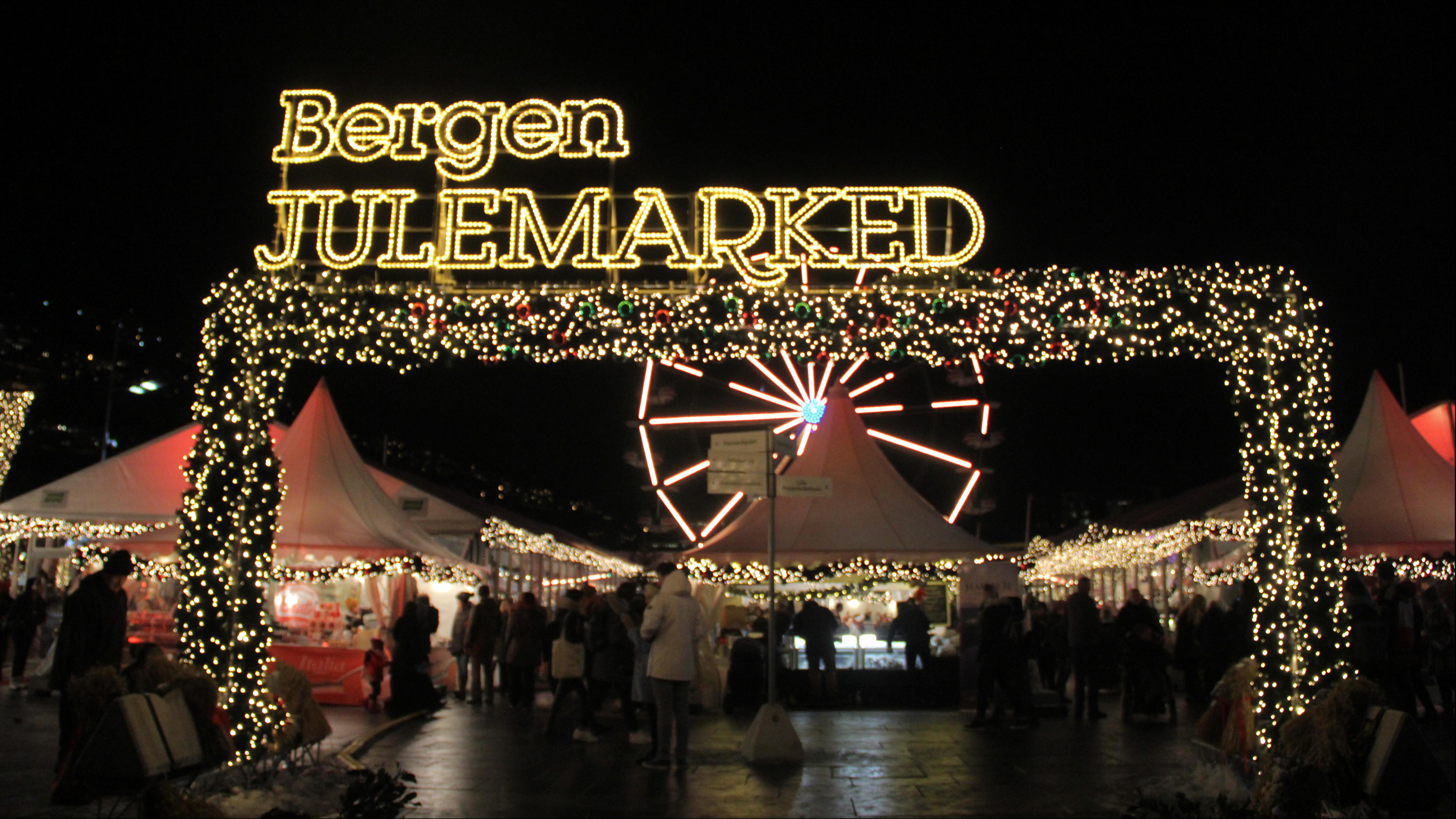 Bergen ringer julen inn