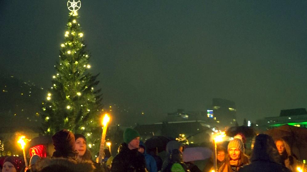 Fakler og julelys