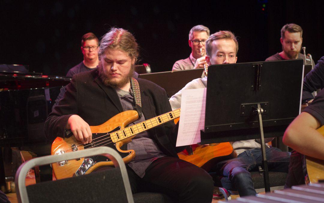 – Spilt musikk siden februar og nå er jeg i Grieghallen