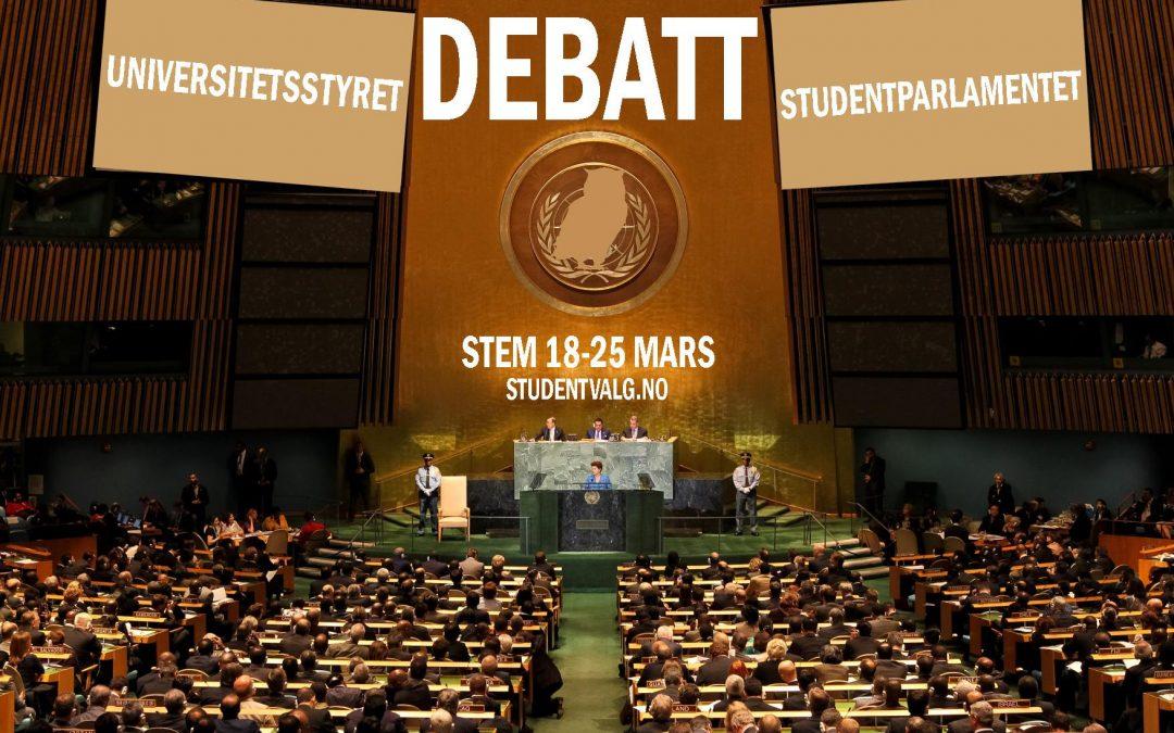 UiB Studentvalg: Debatt