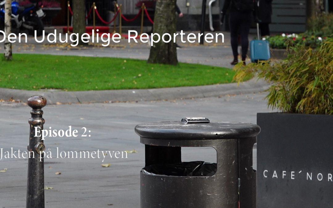 Den Udugelige Reporteren episode 2: Jakten på lommetyven