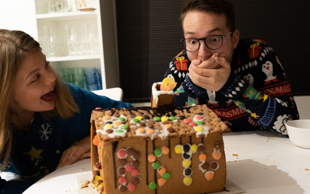 How NOT to make a gingerbread house