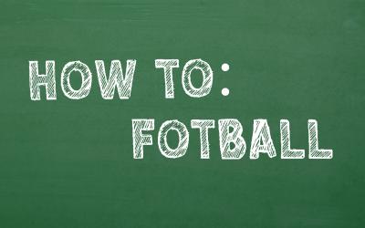 Fotball for nybegynnere